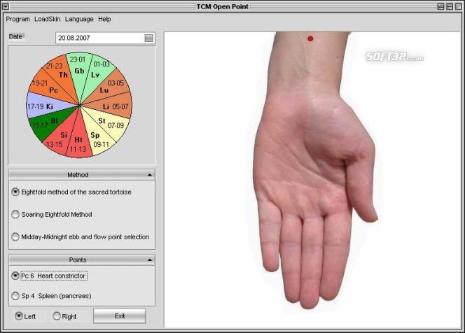 Chrono Acupuncture -TCM open points Screenshot 2