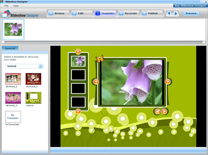 Websmartz Slideshow Designer Screenshot 1