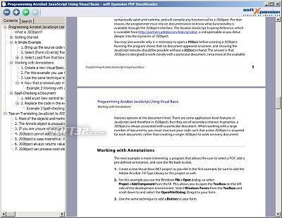 PDF DocuReader Screenshot 3