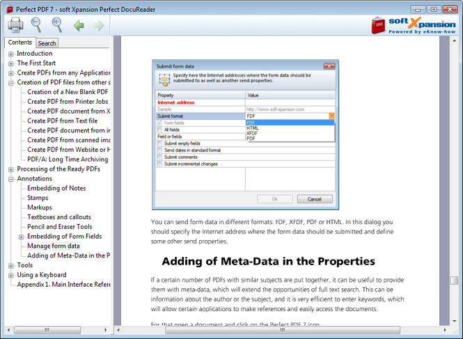 PDF DocuReader Screenshot