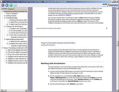 PDF DocuReader Screenshot 2