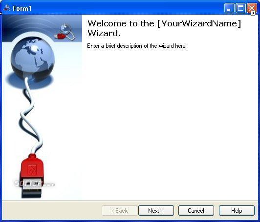 Themed .NET Wizard Screenshot 3