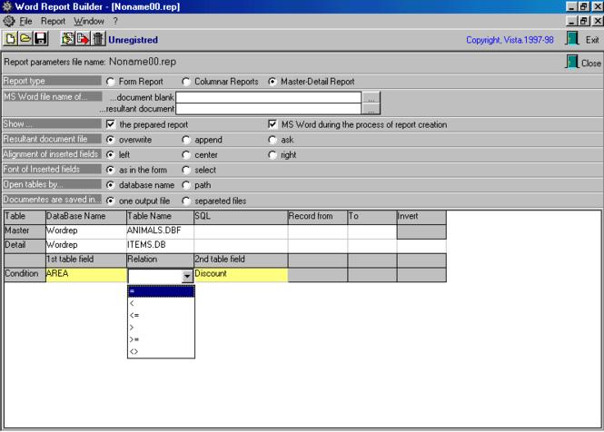 Office Report Builder Screenshot 1