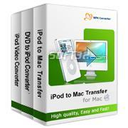4Media iPod Software Pack for Mac Screenshot 2