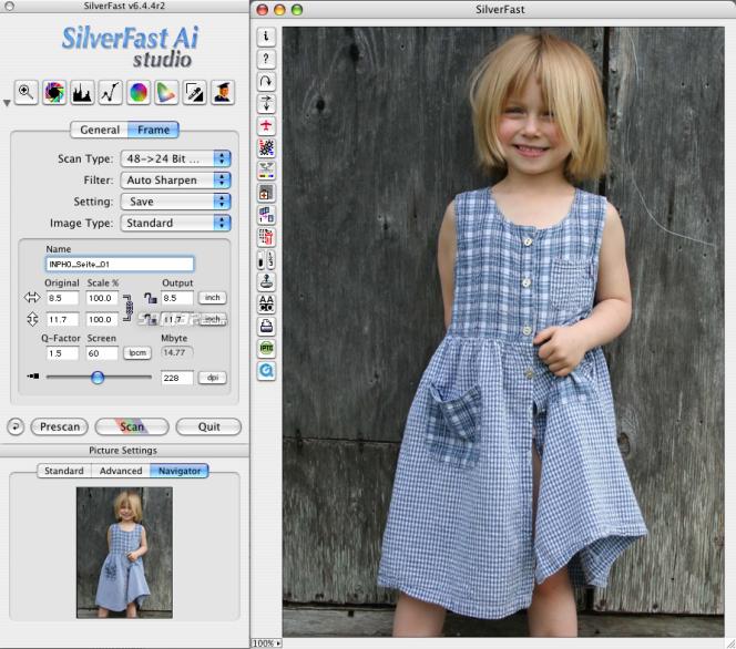 SilverFast Ai Epson Scan-Software (Win) Screenshot 2