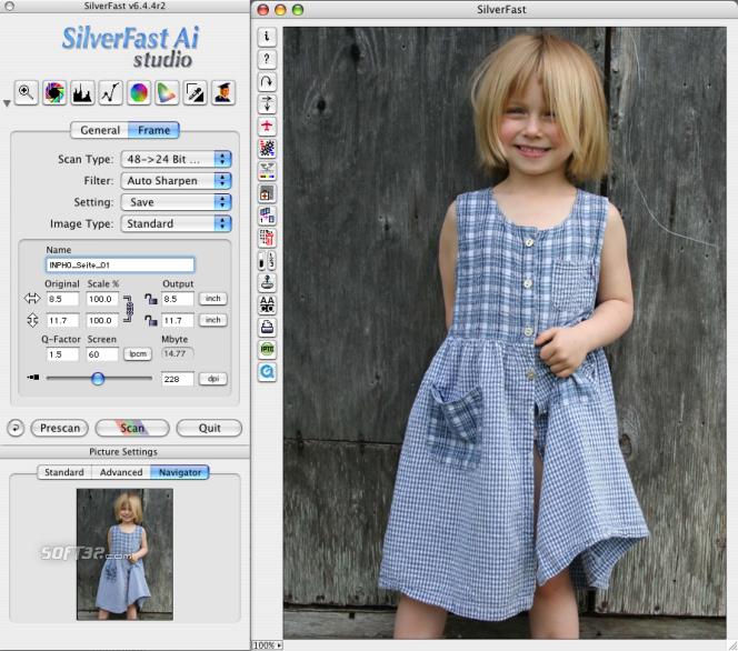 SilverFast Ai Nikon Scan-Software (Win) Screenshot 2