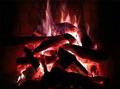 Living Fireplace Video Screensaver 1