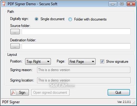 Pdf Signer Screenshot 2
