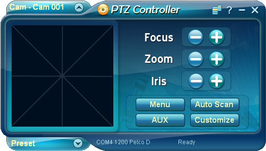 PTZ Controller Screenshot 1