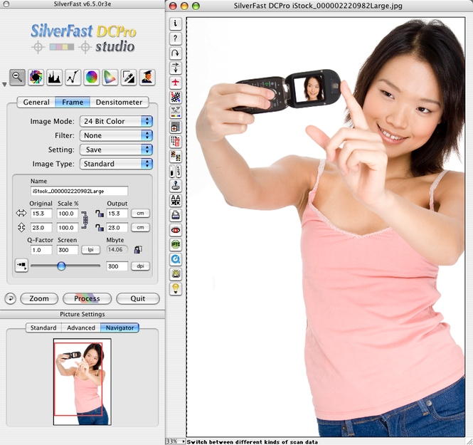 SilverFast DC Pro Studio (Mac) Screenshot 1