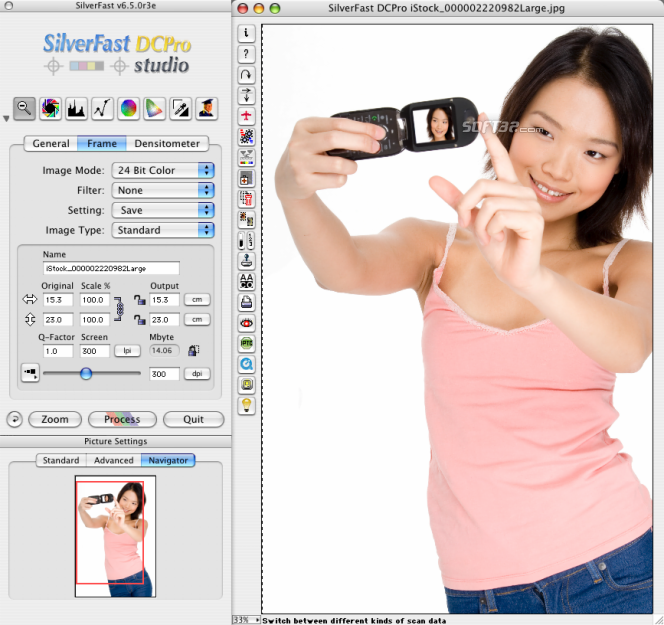 SilverFast DC Pro Studio (Mac) Screenshot 3