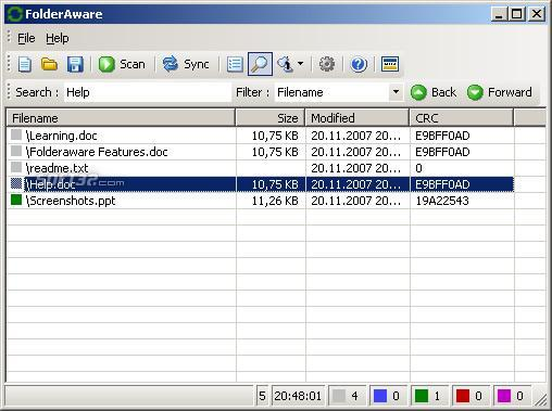 FolderAware Screenshot 3