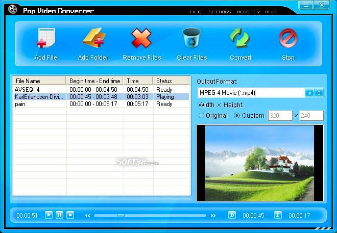 Pop Video Converter Screenshot 3