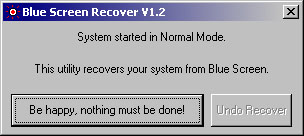 BSRecover Screenshot 1