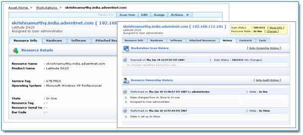 ManageEngine Asset Explorer Screenshot 1