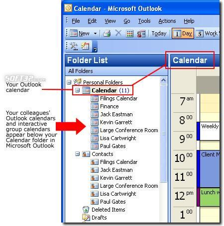 OfficeCalendar for Microsoft Outlook Screenshot 2