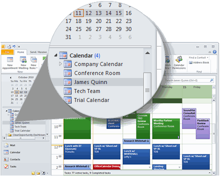 OfficeCalendar for Microsoft Outlook Screenshot