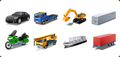 Icons-Land Vista Style Transport Icon Set 1