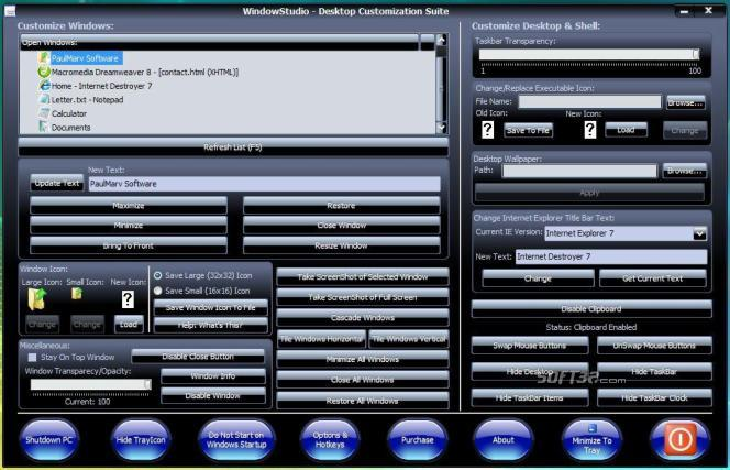 WindowStudio Screenshot 3