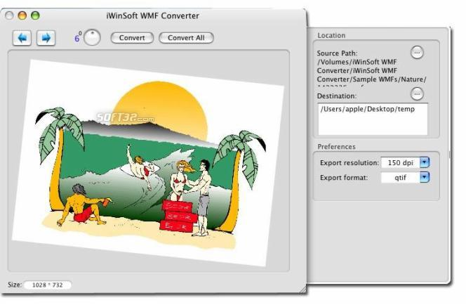 iWinSoft WMF Converter for Mac Screenshot 3