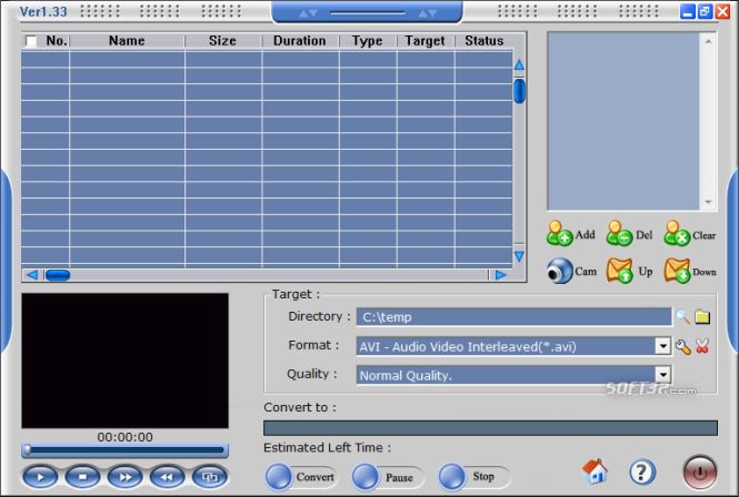 Apt Video Converter Screenshot 2
