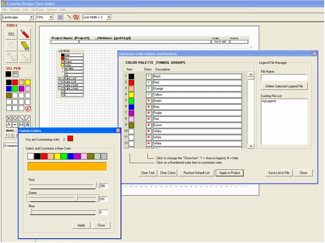 Creative Design ChartMaker Screenshot