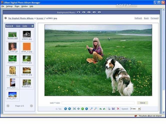UBest Digital Photo Album Manager Screenshot