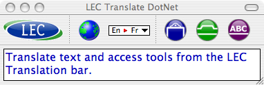 Translate DotNet for MAC Screenshot