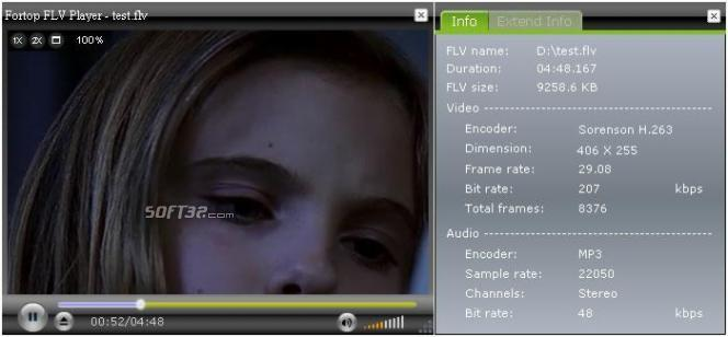 Fortop FLV Player Screenshot 2