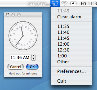 TinyAlarm Screenshot 1