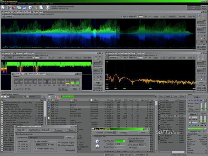 MP3 Stream Editor Screenshot 2