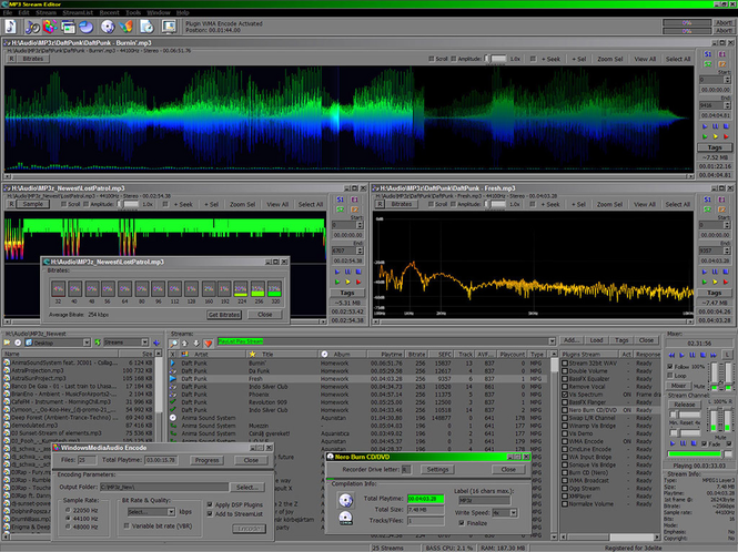 MP3 Stream Editor Screenshot