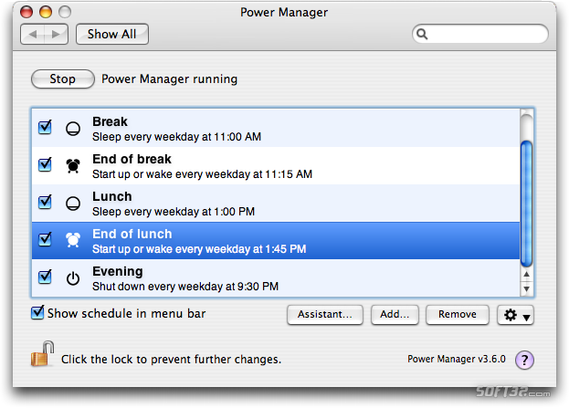 Power Manager Screenshot