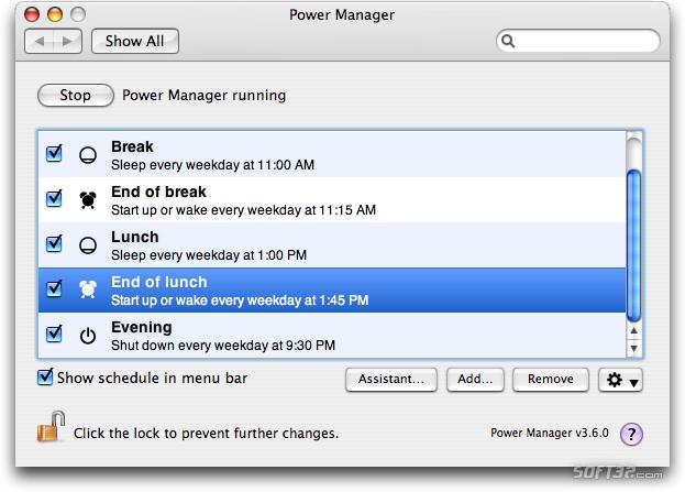 Power Manager Screenshot 1