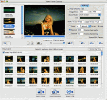 4Media Video Frame Capture for Mac Screenshot