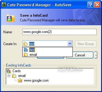 Cute Password Manager Screenshot 4