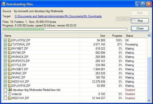 FTP4Shell Screenshot