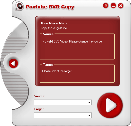 Pavtube DVD Copy Screenshot