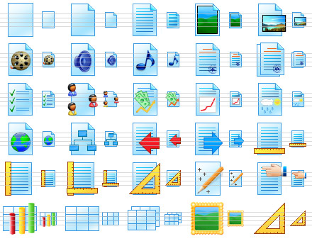Paper Icon Library Screenshot