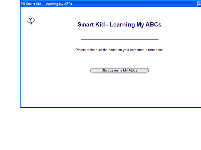 Smart Kid - Learning My ABCs Screenshot