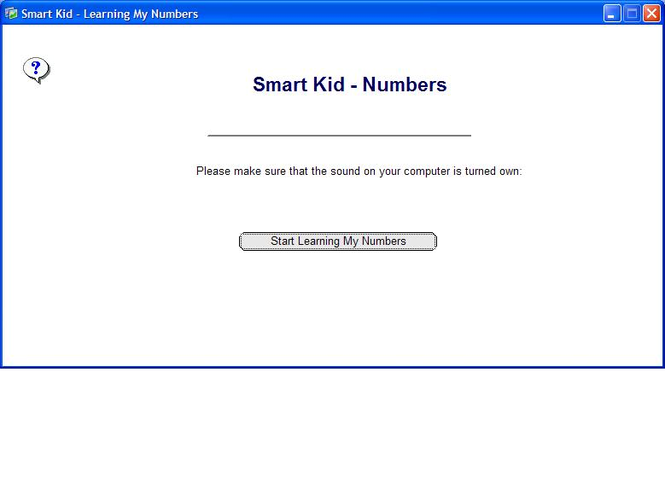 Smart Kid - Learning My Numbers Screenshot