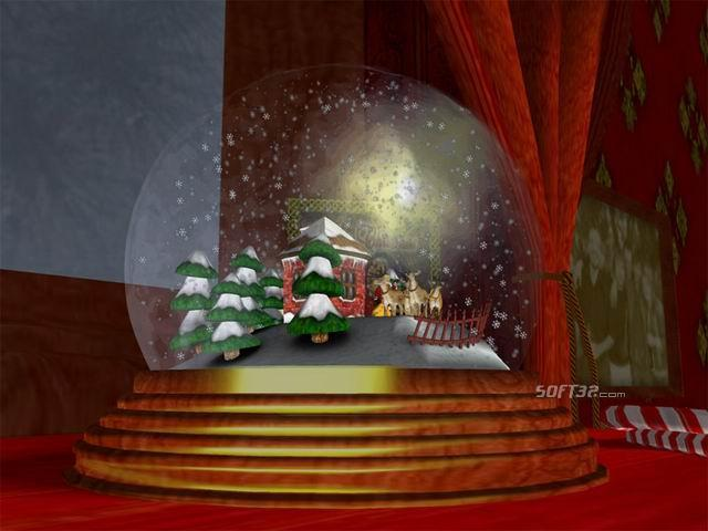 Christmas Snow Globe 3D Screenshot