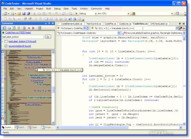 Code Summarizer Screenshot 2