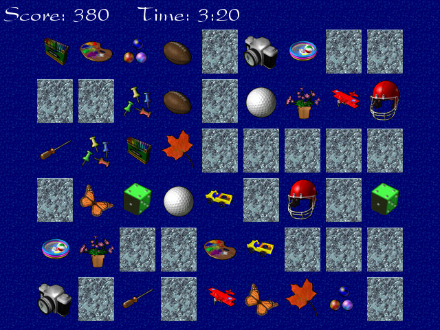 Memory Puzzle Screenshot