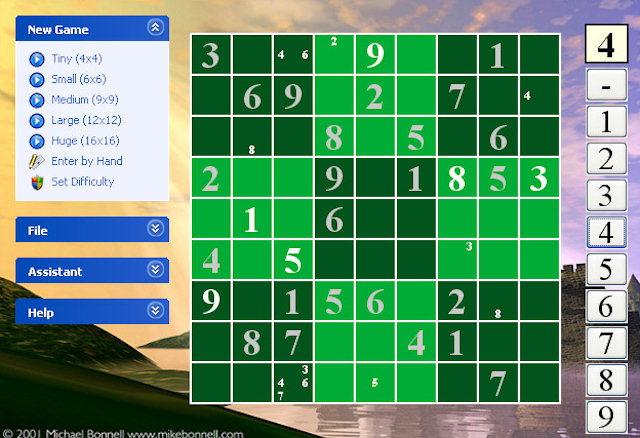 Sudoku Dream Screenshot 1