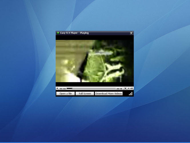 Easy FLV Player Screenshot 1