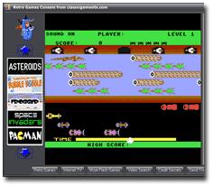 Retro Games Console Screenshot 1