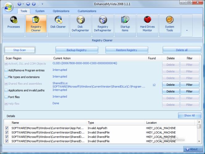 EnhanceMyVista Pro Screenshot 2