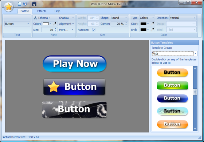 Button Shop Screenshot 2
