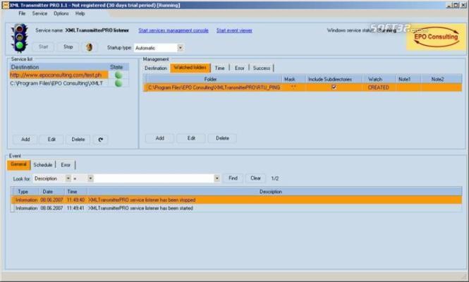 XML Transmitter PRO Screenshot 3
